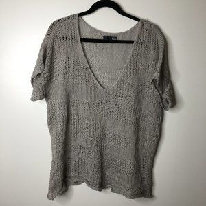 Eileen Fisher loose knit sweater